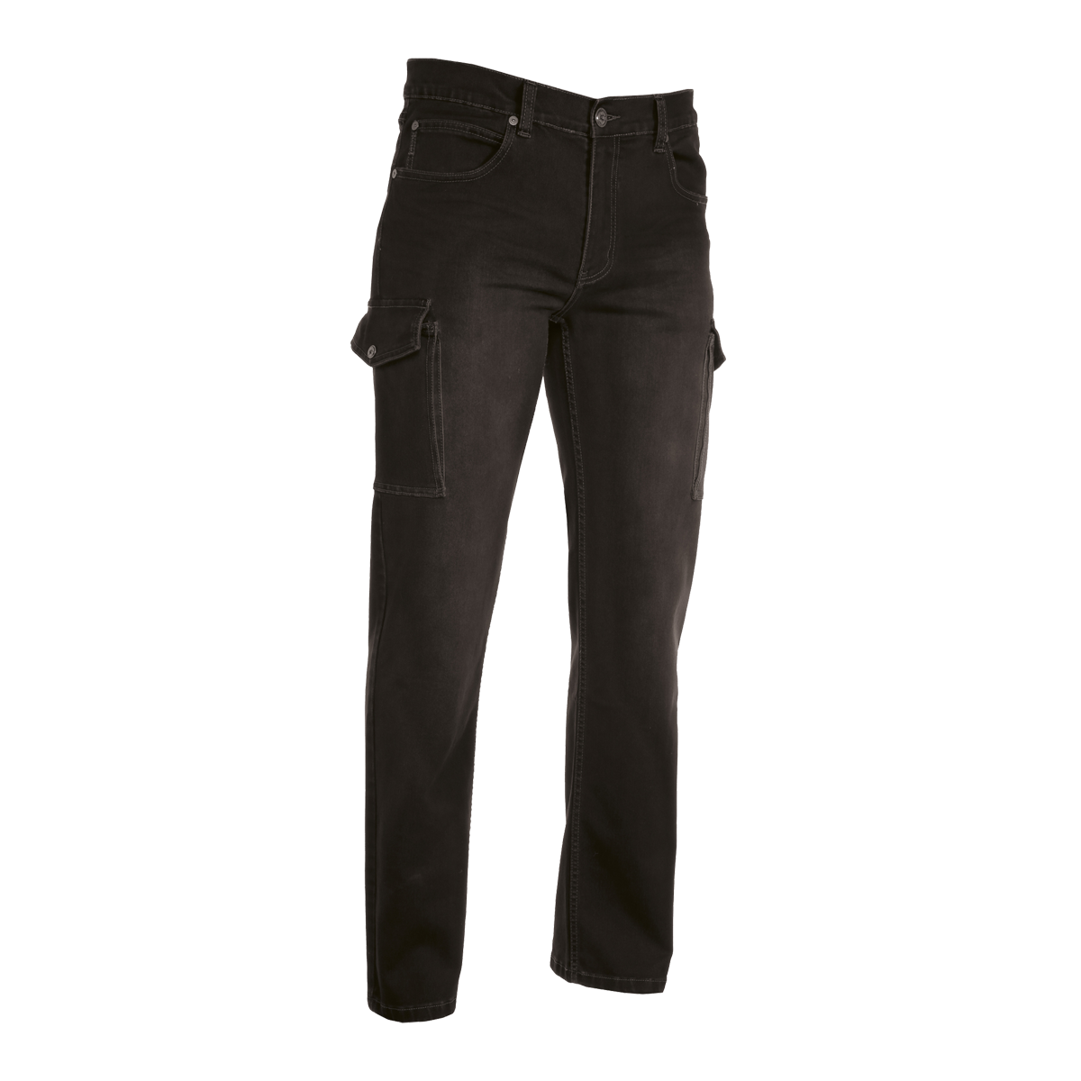 Yacht Uniform - Trousers - Man Cargo Jeans Stretch